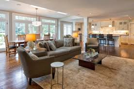 Open Concept Kitchen Living Room And Dining Inspirations With To Open Concept Living Room Dining Room And Kitchen