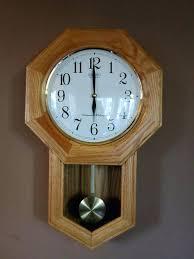 oak pendulum wall clock linden wall clock with pendulum oak pendulum wall clock quartz gorgeous linden
