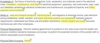 Industrial Electrician Salary Electrician Job Description And Salary Apprentice Jobs Nyc