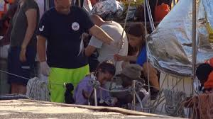 Italy Rebuffs German Migrant Appeal As Rescue Boat Disembarks At