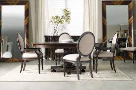 Pedestal Dining Table Set Eastridge Round Oval Pedestal Dining Room Set By Hooker Furniture