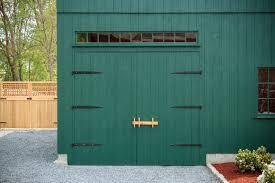 image of barn door strap hinges design