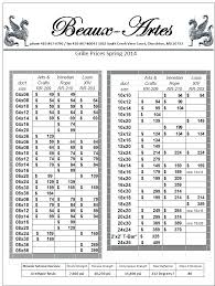 Return Grille Sizing Chart Furnace Filter Sizes Chart Gitary Online