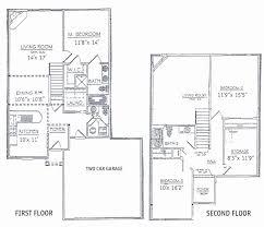 2 bedroom house plans with basement best of 3 bedrooms floor plans 2 story