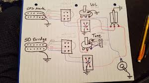 wiring color code for se model g&b pickups? official prs guitars forum Ford Truck Wiring Diagrams Gb Pickup Wiring Diagram #16