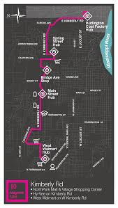 magenta line citidbus schedule route map