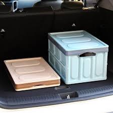 Автомобильный <b>Органайзер</b> складывающийся ящик для ...