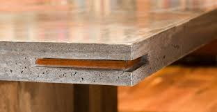 concrete and wood furniture. Concrete And Wood Furniture. Table With Large Inlay By Keelin Kennedy Furniture