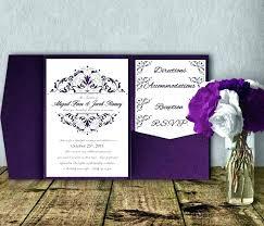 Wedding Invitations Templates Purple Elegant Purple Wedding Invitations Elegant Purple Wedding