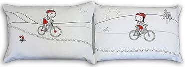 'A Trail For Two' Matching Pillowcase Gift Set for Birthdays, Weddings,  Anniversaries