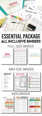 best ideas about bill organization binders essentials package