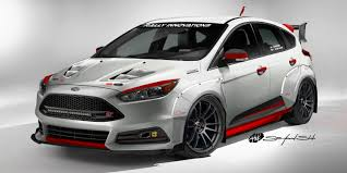 Focus St Rally Lights Rally Innovations Ford Focus St Sema Car Ford Authority