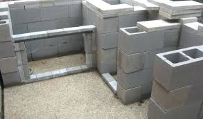 cinder block outdoor kitchen new build using concrete block custom outdoor kitchens cinder block outdoor kitchen