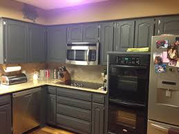 grey painted kitchen cabinetsBlack Appliances With Grey Cabinets  Outofhome