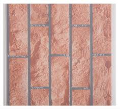 china x hollow core structure plastic brick wall panels decorative plastic wall covering sheets supplier