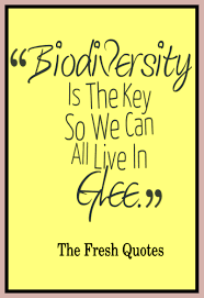 importance of biodiversity quotes and slogans quotes wishes biodiversity is the key so we can all live in glee biodiversity quotes slogans