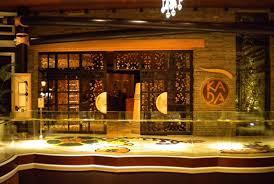 Elegant Japanese Style Restaurant Interior Design of Okada, Las Vegas  Entrance