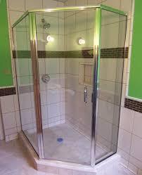 semi frameless single shower doors 2. Semi Frameless Neo Angle Single Shower Doors 2 S