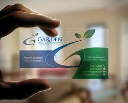 Translucent Plastic Business Cards Translucent Plastic Business Card On Behance