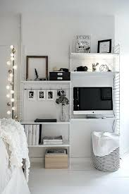 Small Bedroom Desk Ideas Bedroom Office Decorating Ideas Endearing Small  Workspace Tiny Desk Dream Home Ideas