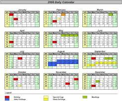 Officehelp Template 00031 Calendar Templates 2005 2010