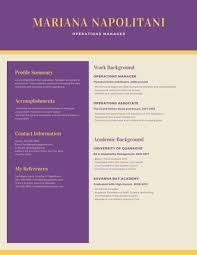 Resume Modern Format Customize 844 Modern Resumes Templates Online Canva