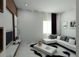 Small Picture Living Room Curtains Ideas Modern White Interior Design idolza