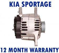 kia sportage electrical components kia sportage 2 0 16v 4wd 2004 2005 2006 2007 2008 2009 2015 rmfd alternator