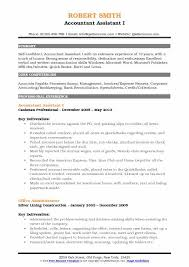 Accountant Assistant Resume Samples Qwikresume