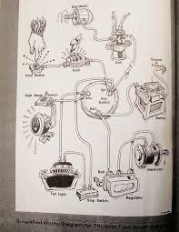 harley wiring diagrams biltwell inc wtf 74 s 2 brush generators