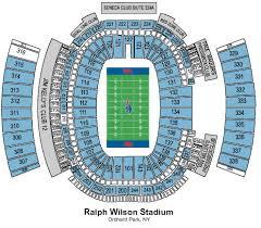 Ralph Wilson Stadium Seating Chart View Ralph Wilson Stadium Sections Ralph Wilson Stadium