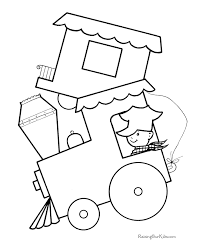 Small Picture Train Preschool coloring pages Free Printable Coloring Pages For