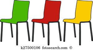 chair clipart. color chairs chair clipart a