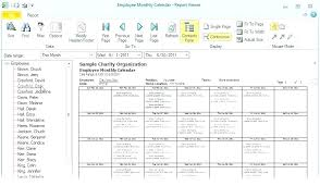 Excel Monthly Schedule Template Free Meeting Rota Word Doc