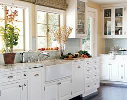 kitchens with white cabinets. Wonderful White The Perfect White Kitchen White Cabinets  Painted Floor Subway  Tile By On Kitchens With Cabinets