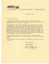 Recommendation Letter - Alan Palfreyman