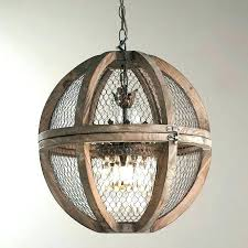 french shabby distressed white wood chandelier orb medium chandeliers distresse distressed wood orb chandelier