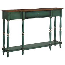 Wyoming Two Tone Antique Console Table Convenience Concepts Target