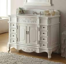 42 classic style antique white morton bathroom sink vanity cf 2815w aw
