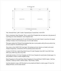 Microsoft Word Cd Templates 15 Cd Case Templates Word Pdf Psd Eps Indesign Free