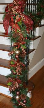 Christmas Staircase Decorations