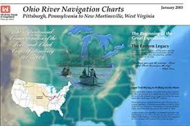 Army Corps Of Engineers River Charts Ohio River Navigation Charts Pittsburgh Pennsylvania To