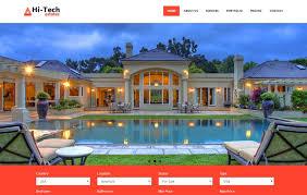 Real Estate Free Bootstrap Website Template Webthemez