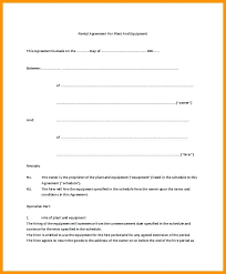 Free Sample Lease Agreement Impressive Basic Tial Lease Agreement Template Simple Rental Templates Free