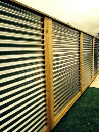 how to build a corrugated metal fence corrugated metal fence panels plans for corrugated metal fence