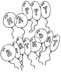 happy birthday curious george coloring pages coloring pages for kids