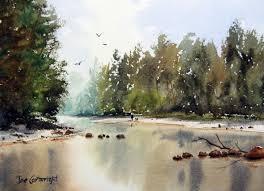 grose river yarramundi watercolour painting demonstration
