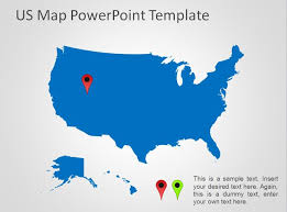 powerpoint map templates powerpoint us map template free us map powerpoint template free
