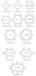 round dining table sizes dining room table round is the inspiration round table charts interior designer
