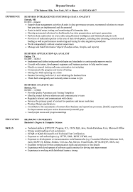 Web Analyst Resume Sample Business Analyst QA Analyst Resume Samples Velvet Jobs 5